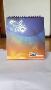 jasa cetak percetakan pencetakan pembuatan kalender IAF
