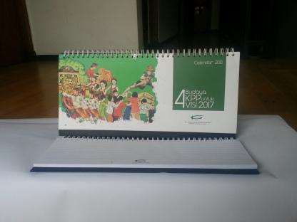 jasa cetak percetakan pencetakan pembuatan kalender KPP 2012