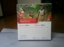 jasa cetak percetakan pencetakan pembuatan kalender KPP 2014 2