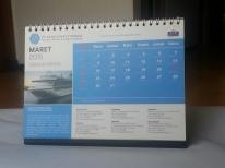 jasa cetak percetakan pencetakan pembuatan kalender KUT 2
