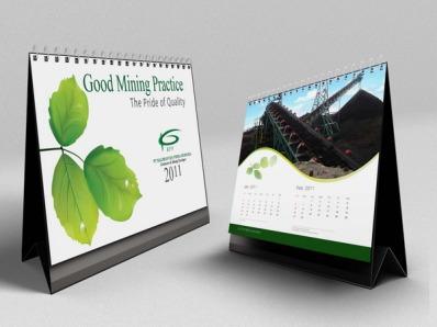 jasa cetak percetakan pencetakan pembuatan kalender meja KPP 2011 C