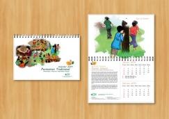 jasa cetak percetakan pencetakan pembuatan kalender preview kalender dinding 2014_opsi 1
